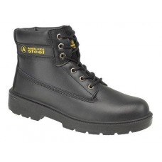 Black Safety Boot Size