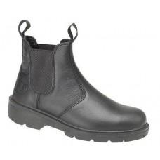 Black Safety Dealer Boot